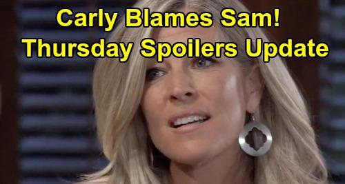 General Hospital Spoilers: Thursday, November 21 Update – Carly Blames Sam - Valentin's Proposal for Hayden – Nik's Bodyguard Deception