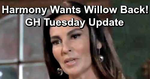 General Hospital Spoilers: Tuesday, April 23 Update – Harmony Demands Willow Return to DoD - Kristina's Wild Outburst