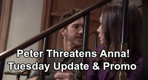 General Hospital Spoilers: Tuesday, February 4 Update – Sonny Meets The Enemy - Nelle Wants Q Fortune - Peter Says Nobody's Going To Save Anna