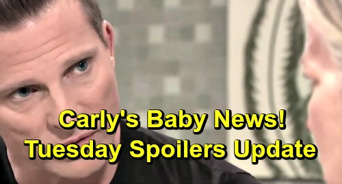 General Hospital Spoilers: Tuesday, March 12 Update – Carly Gets News of Baby's Fate – Oscar's Deal - Nina Catches Valentin