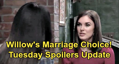 General Hospital Spoilers: Tuesday, March 24 Update – Willow's Marriage Choice – Nelle Spills Custody Plot – Lulu Pays The Price