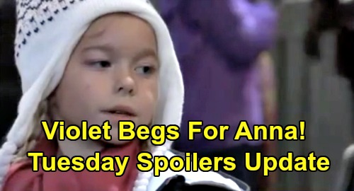 General Hospital Spoilers: Tuesday, March 3 Update – Violet Fights For Anna - Peter Confesses - Julian Beats Up Linc