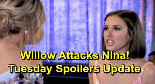 General Hospital Spoilers: Tuesday, May 21 Update – Raging Ava Ready for Ryan – Lucas Onto Brad's Lies – Finn Proposal Thrills Anna