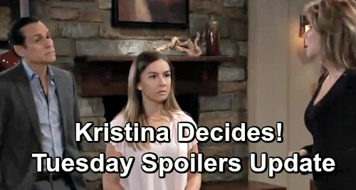 General Hospital Spoilers: Tuesday, May 7 Update – Shiloh Gets Sam's Bold Pledge – Kristina's Choice – Jax Back for Grieving Josslyn