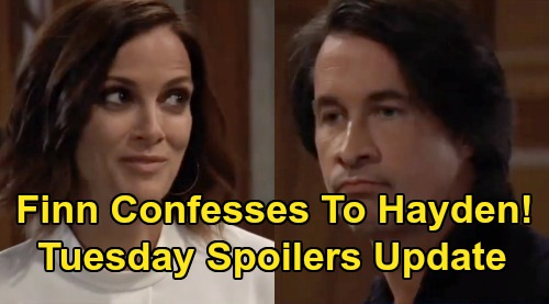 General Hospital Spoilers: Tuesday, November 12 Update – Peter Shuts Down Maxie & Lulu - Risky Charlotte Negotiations – Finn Confesses to Hayden