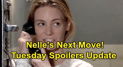 General Hospital Spoilers: Tuesday, October 8 Update – Nelle's Next Move – Sasha's Lies Crush Nina, Dustin Defends Lulu