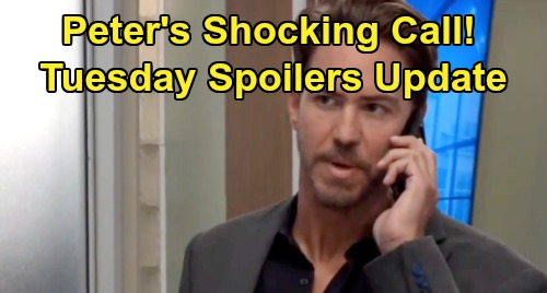 General Hospital Spoilers: Tuesday, September 10 Update – Peter's Shocking Phone Call - Drew's Death Devastates Monica