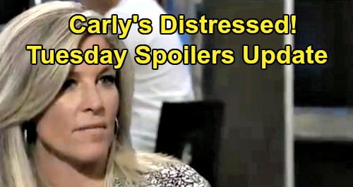 General Hospital Spoilers: Tuesday, September 3 Update – Carly Distressed by Sonny's Visitor – Liz Warns Julian – Josslyn Coaches Dev