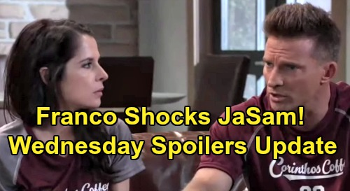 General Hospital Spoilers: Wednesday, August 14 Update - JaSam Horrified By Franco's Ordeal - What Franco Remembers About Shiloh