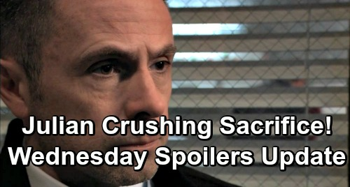 General Hospital Spoilers: Wednesday, January 2 Update – Kristina's Over Her Head – Julian Crushing Sacrifice – Killer Search Discovery