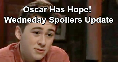 General Hospital Spoilers: Wednesday, January 30 Update – Oscar Has Hope – Willow's Threat Grows – Drew Asks Kim on a Date