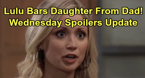 General Hospital Spoilers: Wednesday, January 8 Update – Lulu Bans Charlotte From Valentin - Jason Makes a Deal - Ava at Gunpoint