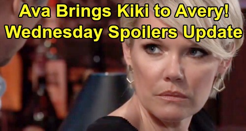 General Hospital Spoilers: Wednesday, July 17 Update - Ava Brings Kiki Message To Avery - Dr. O Blows Nina's House Down