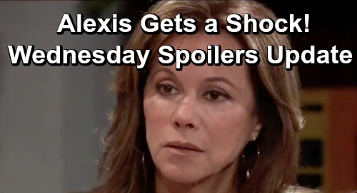 General Hospital Spoilers: Wednesday, July 3 Update – Alexis Faces a Shocker – Sonny's Risky Business