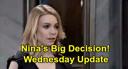 General Hospital Spoilers: Wednesday, May 6 Update – Carly Fears Wiley Custody Loss – Nina's Big Nelle Decision