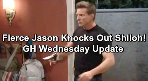 General Hospital Spoilers: Wednesday, May 8 Update – Fierce Jason Knocks Out Shiloh, Halts Sam's Initiation – Brad's Dire DoD Warning