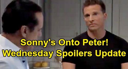 General Hospital Spoilers: Wednesday, October 9 Update – Sonny's Onto Peter - Spinelli Cracks Sam's Case – Franco Legal Bombshell