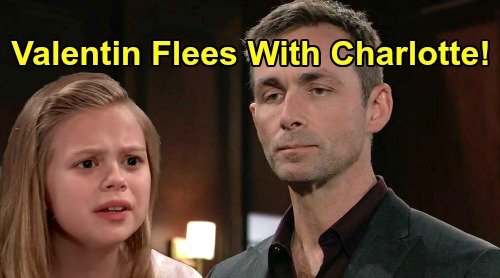 General Hospital Spoilers: Valentin Disappears with Charlotte, Claudette Plot Backfires – Lulu Fears She'll Never See Daughter Again?