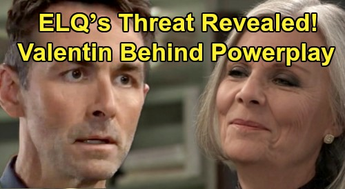 General Hospital Spoilers: ELQ's Mysterious Threat Revealed, Valentin Behind Powerplay – Tracy Ready for War, Nelle's a Pawn
