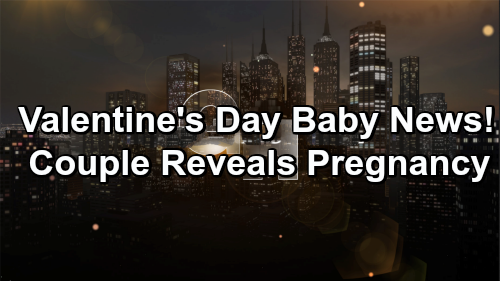 General Hospital Spoilers: Valentine's Day Pregnancy News, Couple Spreads the Word – More Baby Drama Brewing in Port Charles