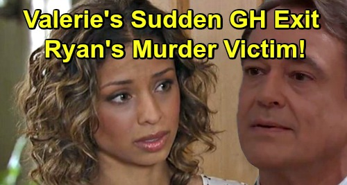 General Hospital Spoilers: Valerie's Sudden GH Exit Explained - Brutal Ryan Murder Victim?