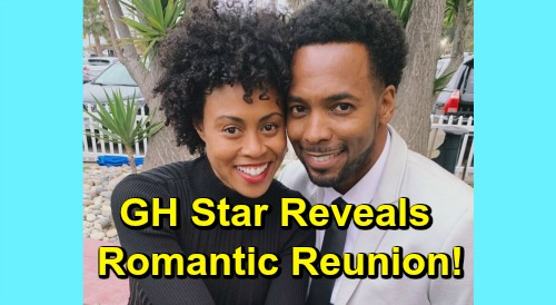 General Hospital Spoilers: GH Star Reveals Romantic Reunion – Vinessa Antoine and Anthony Montgomery Back Together