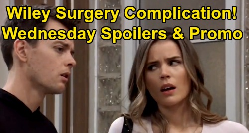 General Hospital Spoilers: Wednesday, March 25 – Wiley Surgery Complication – Sonny, Jason & Curtis Strategy Horrifies Jordan