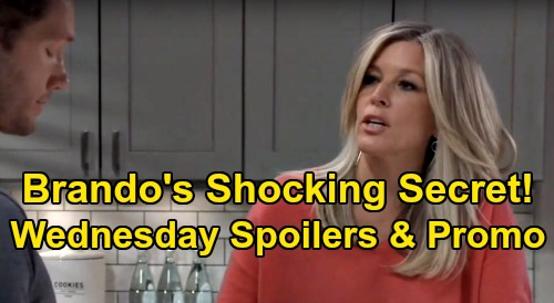 General Hospital Spoilers : Wednesday , April 1 – Nina Horrifying Jax Discovery – Carly Learns Brando Secret – Mike Rages at Sonny