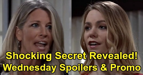 General Hospital Spoilers: Wednesday, April 8 – Carly & Nelle Flashback Bomb, Huge Secret Revealed - Willow Enters Wiley Plot