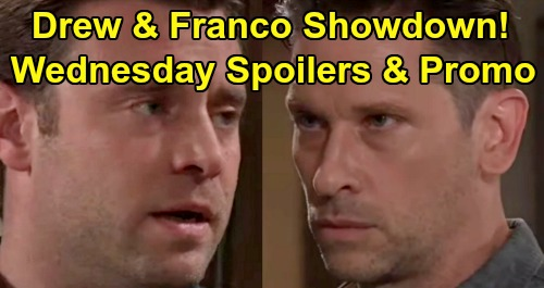 General Hospital Spoilers: Wednesday, August 14 – Drew and Franco's Showdown – Maxie's Ready for Battle – Hayden's Risky Mission