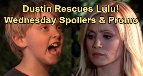 General Hospital Spoilers: Wednesday, August 28 – Nina Explodes at Lying Jax – Franco Breaks Liz's Heart – Dustin Rescues Lulu