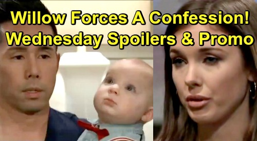 General Hospital Spoilers: Wednesday, February 13 – Nelle's Creepy Valentine for Michael – Willow Forces Brad to Confess