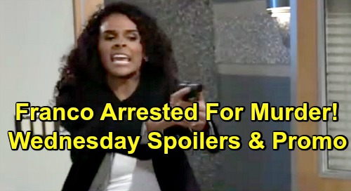General Hospital Spoilers: Wednesday, February 6 – Jordan Arrests Franco – Charlotte's In Trouble - Anna Threatens Dr. O's Life