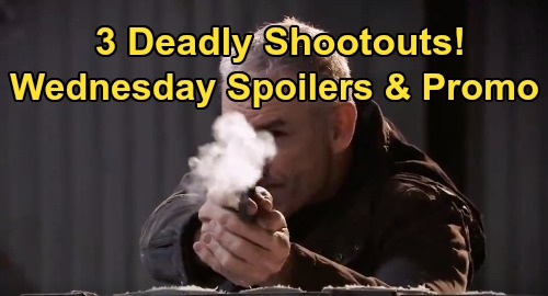 General Hospital Spoilers: Wednesday, January 22 – Corinthos Family Suffers 3 Shootouts, Laura Wounded – Valentin's Dirty Nelle Trick