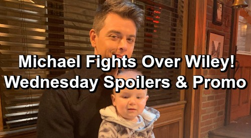 General Hospital Spoilers: Wednesday, January 30 – Ryan Rages Over Kevin – Michael and Julian Fight Over Wiley