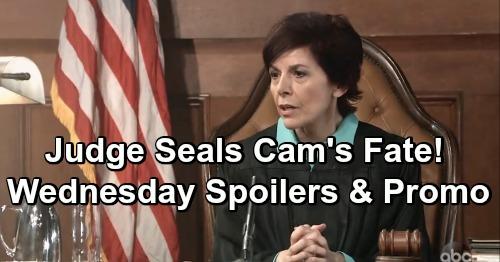 General Hospital Spoilers: Wednesday, January 9 – Judge Seals Cameron's Fate – Ryan Copycat Killer Suspicions Spread