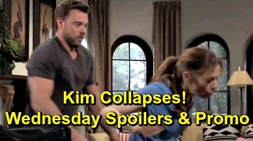 General Hospital Spoilers: Wednesday, June 12 – Kim Collapses in Drew's Arms – Ryan Demands Answers in Pentonville