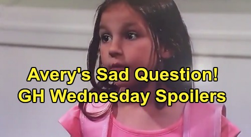 General Hospital Spoilers: Wednesday, May 13 – Nelle Proposes - Avery's Heartbreaking Question – Sonny's Emotional Outburst