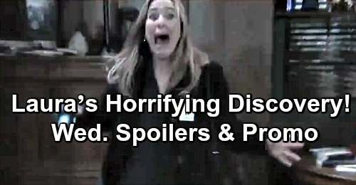 General Hospital Spoilers: Wednesday, May 15 – Laura's Horrifying Discovery – Sam's DoD Initiation – Mike's Shocking Proposal