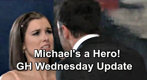 General Hospital Spoilers: Wednesday, May 22 Update – Michael is Willow's Hero – Shiloh Changes Sam Plan – Scott Spots Ryan