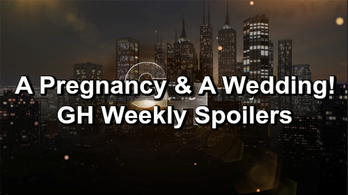 General Hospital Spoilers: Week of February 11-15 – Pregnancy Surprise, Sudden Wedding and New Romance