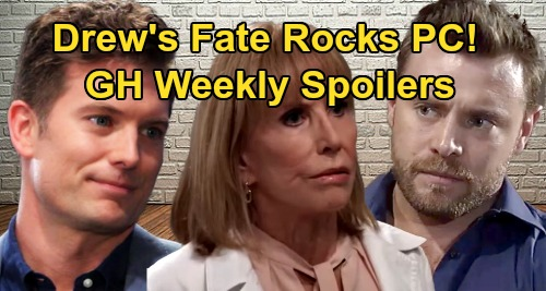 General Hospital Spoilers: Week of August 26 – Drew's Fate Rocks Port Charles – Cassandra Crisis Hits – Dustin's Heroic Move