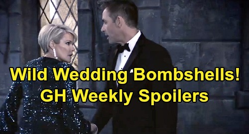 General Hospital Spoilers: Week of December 30 – Wild Wedding Bombshells – Carly's Betrayal Enrages Sonny – Maxie Helps Nina