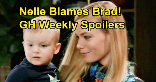 General Hospital Spoilers: Week of February 24 – Nelle Blames Brad, Goes For Wiley Custody – Spinelli Solves Peter Mystery