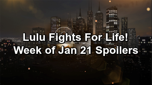 General Hospital Spoilers: Week of January 21 - Total Heartbreak, Urgent Missions and Fight For Life