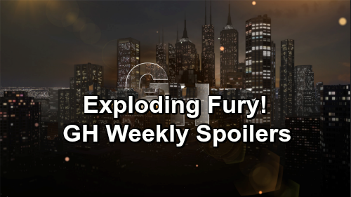 General Hospital Spoilers: Week of January 28-February 1 – Sneaky Plans, Tough Setbacks and Exploding Fury