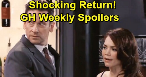 General Hospital Spoilers: Week of July 8 – Huge Bombshells, Alarming Messages and an Exciting Comeback