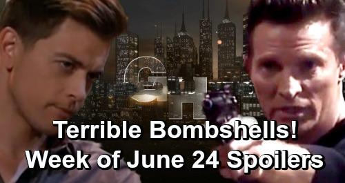 General Hospital Spoilers: Week of June 24 – Terrible Bombshells, Disturbing News and Major Heartbreak