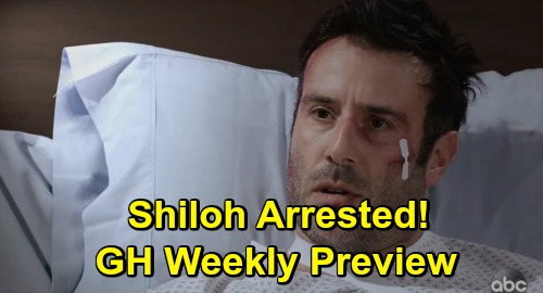 General Hospital Spoilers: Week of June 3 Preview Update - Harmony Demands Willow's Baby - Carly's Terror - Shiloh Arrested