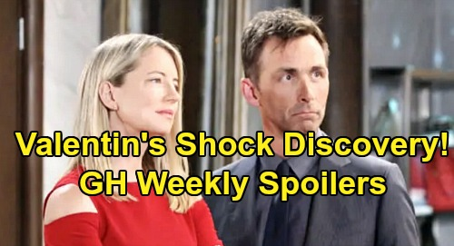 General Hospital Spoilers: Week of November 25 – Valentin's Intriguing Discovery – Surprise Visit for Laura – Julian's Drastic Plan